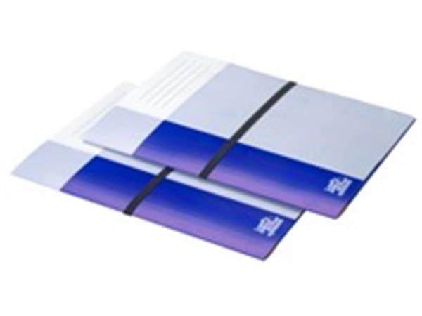 Dossiermap Loeff's Patent 420gr donker blauw