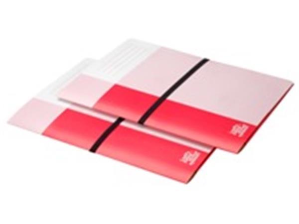 Dossiermap Loeff's Patent 420gr rood
