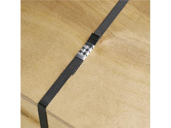 Omsnoeringsband PP 12mmx3000mtr Ø40cm zwart