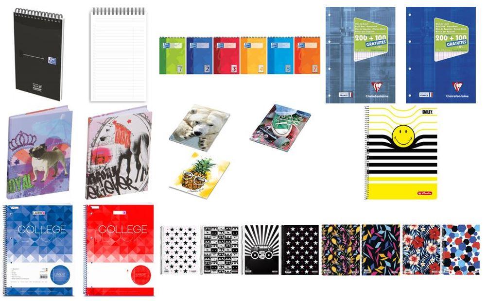 Blokken en notitieboeken