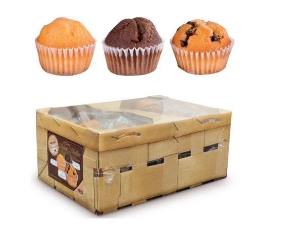 Online Muffins Mini Assorti Per Stuk Verpakt In Mand 60 Stuks Kopen