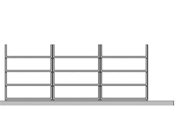 VAKINDELING MARKANT FLEXSTORE C31 GRIJS (SET/12 OPEN LADEN)