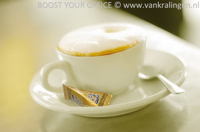 Suikerzakjes Hellma Lucky Sugar Hot Cup 4.5gram 500 stuks