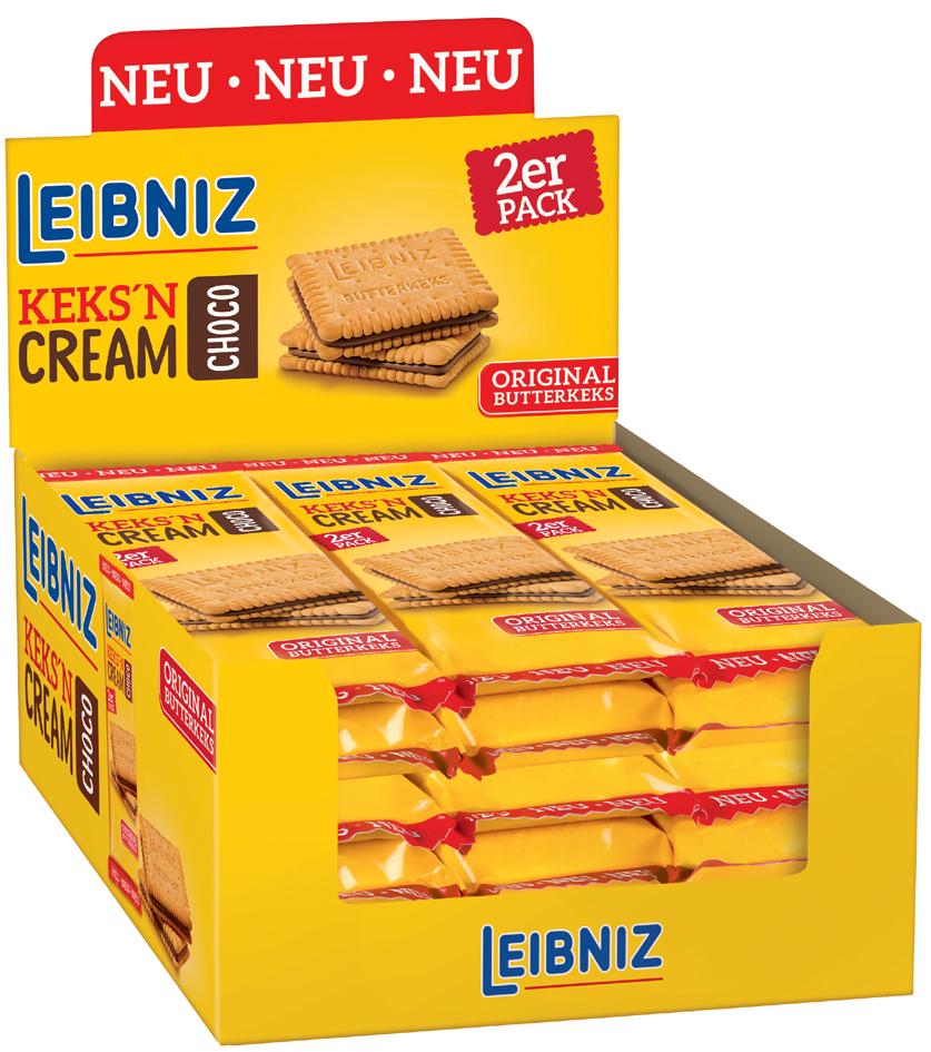 LEIBNIZ biscuitjes met chocoladeroom